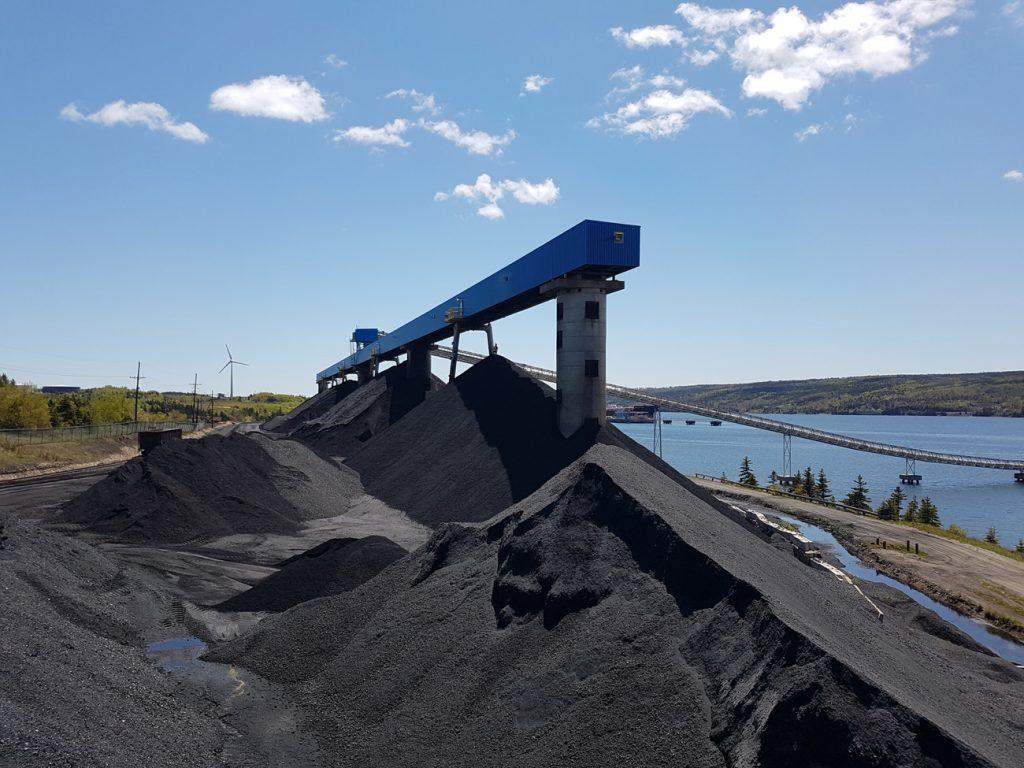 Delorey Land Survey - Adam on Top of a Coal Pile